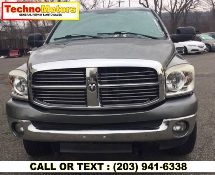 2009 Dodge Ram Pickup 2500 for sale at Techno Motors in Danbury CT