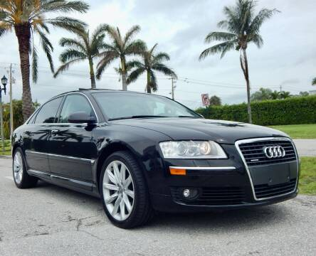 2006 Audi A8 L for sale at VE Auto Gallery LLC in Lake Park FL