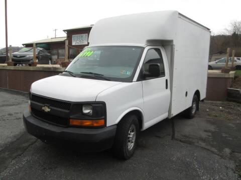 2012 Chevrolet Express Cutaway for sale at WORKMAN AUTO INC in Pleasant Gap PA