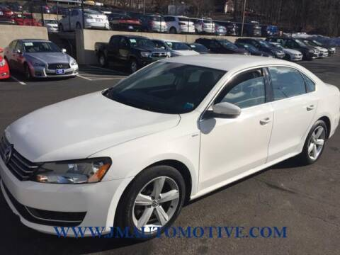 2014 Volkswagen Passat for sale at J & M Automotive in Naugatuck CT