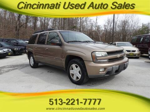 2002 Chevrolet TrailBlazer for sale at Cincinnati Used Auto Sales in Cincinnati OH