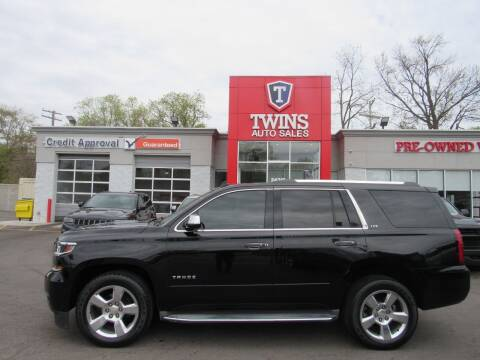 2015 Chevrolet Tahoe for sale at Twins Auto Sales Inc in Detroit MI