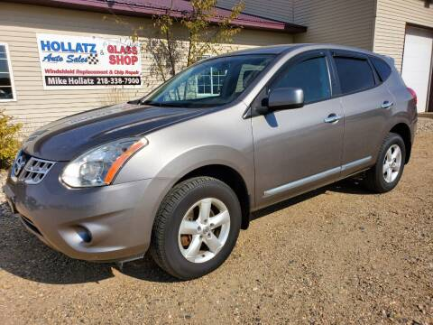 2013 Nissan Rogue for sale at Hollatz Auto Sales in Parkers Prairie MN