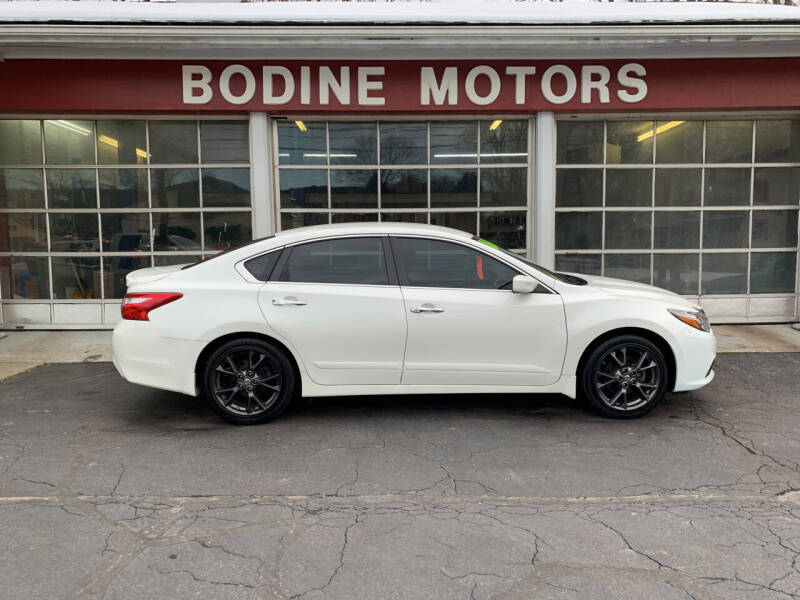 2016 Nissan Altima for sale at BODINE MOTORS in Waverly NY