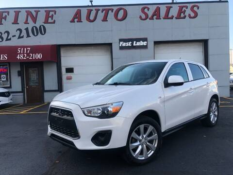 2015 Mitsubishi Outlander Sport for sale at Fine Auto Sales in Cudahy WI