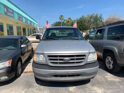 2002 Ford F-150 for sale at DREAM CARS in Stuart FL