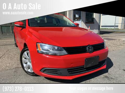 2012 Volkswagen Jetta for sale at O A Auto Sale in Paterson NJ