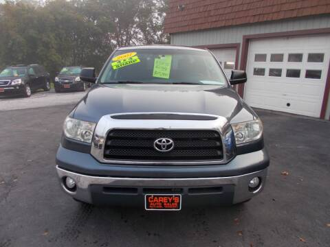 2007 Toyota Tundra for sale at Careys Auto Sales in Rutland VT