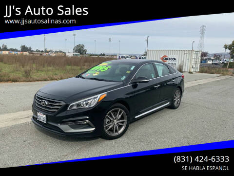 2015 Hyundai Sonata for sale at JJ's Auto Sales in Salinas CA