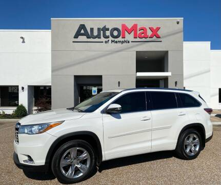 2014 Toyota Highlander for sale at AutoMax of Memphis in Memphis TN