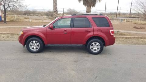 2011 Ford Escape for sale at Ryan Richardson Motor Company in Alamogordo NM