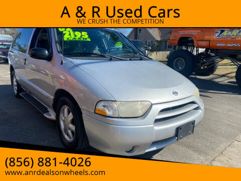 2001 Nissan Quest for sale at A & R Used Cars in Clayton NJ