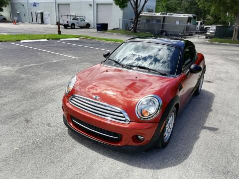 2013 MINI Coupe for sale at Best Price Car Dealer in Hallandale Beach FL