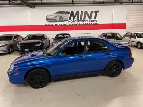2002 Subaru Impreza for sale at MINT MOTORWORKS in Addison IL