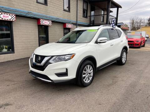 2019 Nissan Rogue for sale at Sisson Pre-Owned in Uniontown PA