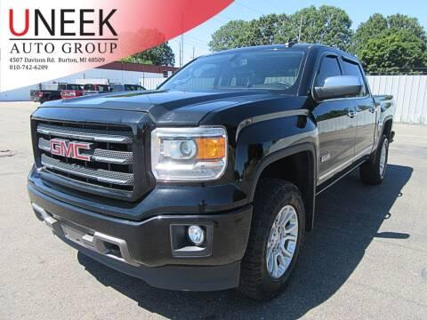 2015 GMC Sierra 1500 for sale at Uneek Auto Group LLC in Burton MI