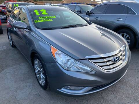 2012 Hyundai Sonata for sale at CAR GENERATION CENTER, INC. in Los Angeles CA
