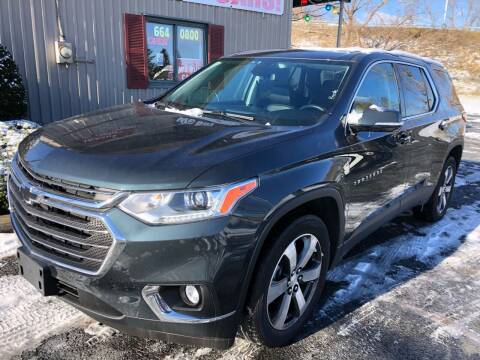 2018 Chevrolet Traverse for sale at Mehan's Auto Center in Mechanicville NY