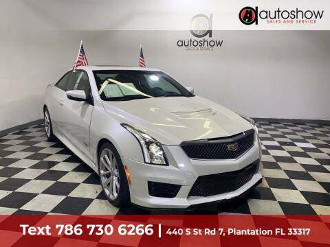 2016 Cadillac ATS-V for sale at AUTOSHOW SALES & SERVICE in Plantation FL
