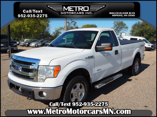 2013 Ford F-150 for sale at Metro Motorcars Inc in Hopkins MN