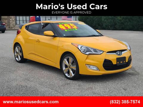 2017 Hyundai Veloster for sale at Mario's Used Cars - Pasadena Location in Pasadena TX