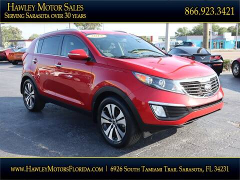 2013 Kia Sportage for sale at Hawley Motor Sales in Sarasota FL