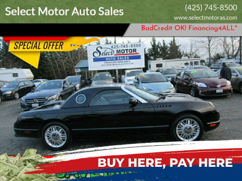 2002 Ford Thunderbird for sale at Select Motor Auto Sales in Lynnwood WA