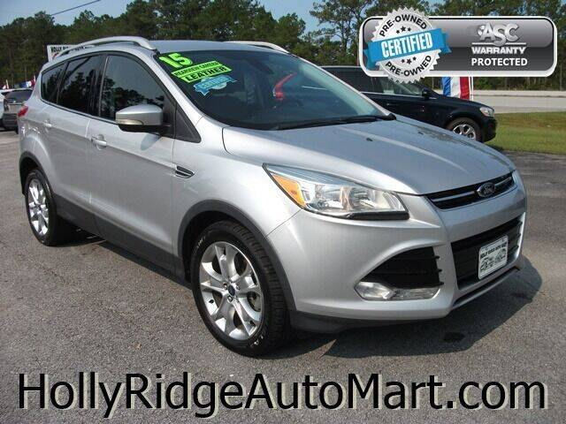 2015 Ford Escape for sale at Holly Ridge Auto Mart in Holly Ridge NC
