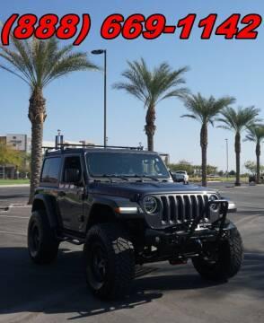 2018 Jeep Wrangler for sale at AZautorv.com in Mesa AZ