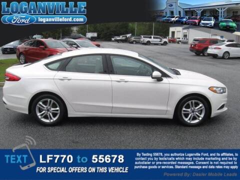 2018 Ford Fusion for sale at Loganville Ford in Loganville GA