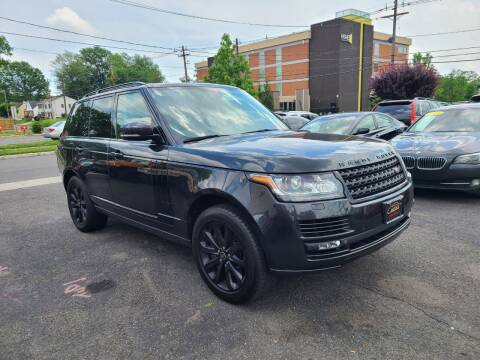 2013 Land Rover Range Rover for sale at Costas Auto Gallery in Rahway NJ