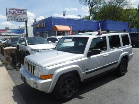 2008 Jeep Commander for sale at City Motors Auto Sale LLC in Redford MI