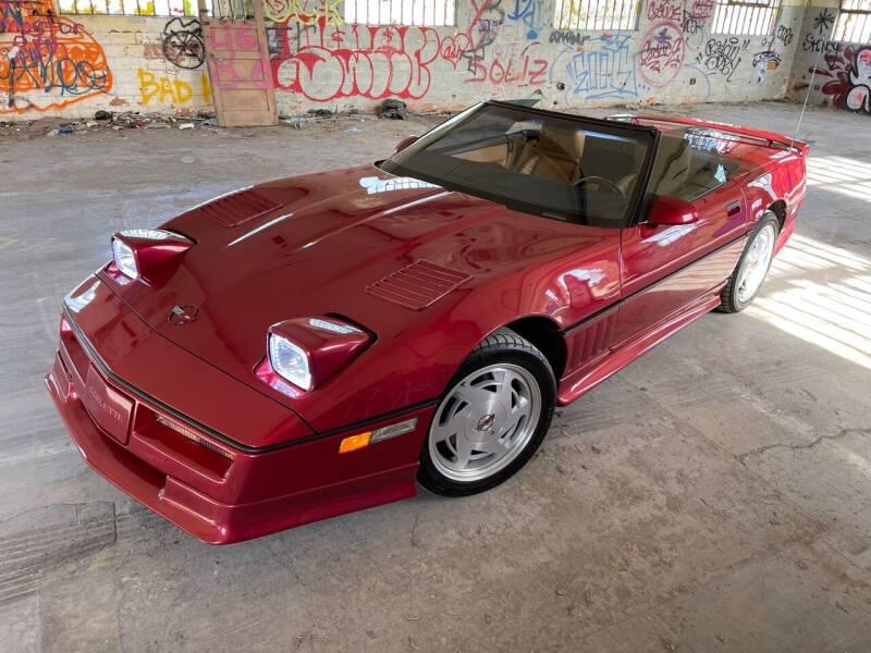 1989 Chevrolet Corvette for sale at Dodi Auto Sales in Monterey CA