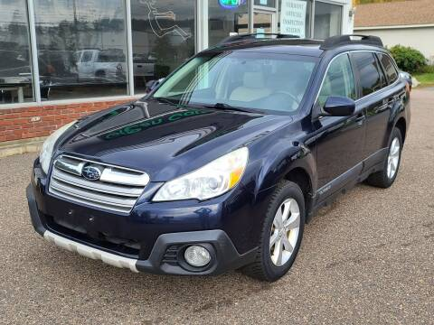 2014 Subaru Outback for sale at Green Cars Vermont in Montpelier VT
