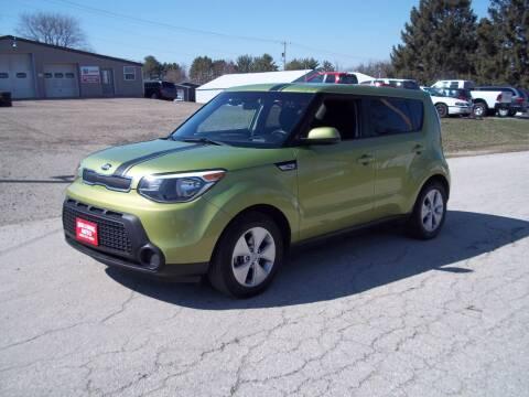 2016 Kia Soul for sale at SHULLSBURG AUTO in Shullsburg WI
