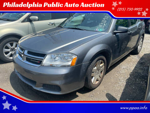 2013 Dodge Avenger for sale at Philadelphia Public Auto Auction in Philadelphia PA