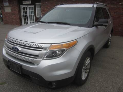 2011 Ford Explorer for sale at Tewksbury Used Cars in Tewksbury MA