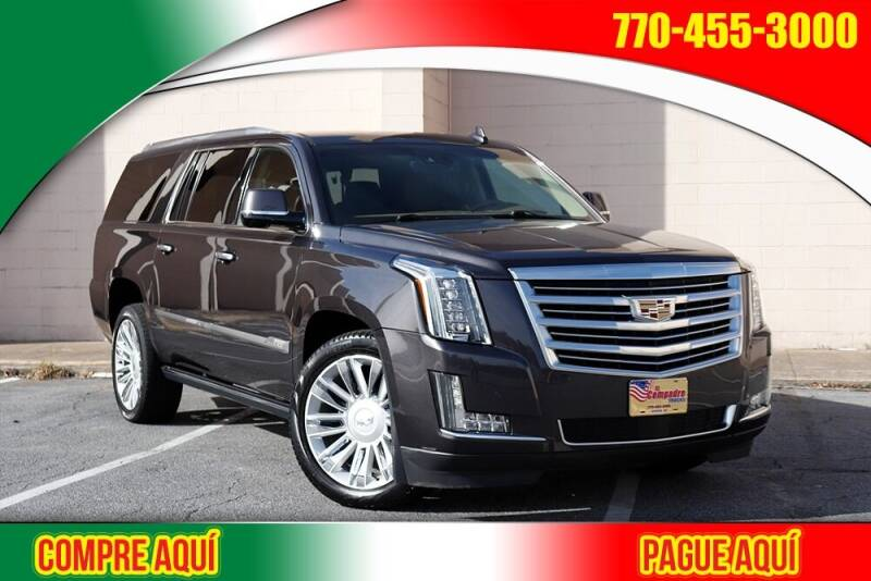 2015 Cadillac Escalade ESV for sale at El Compadre Trucks in Doraville GA