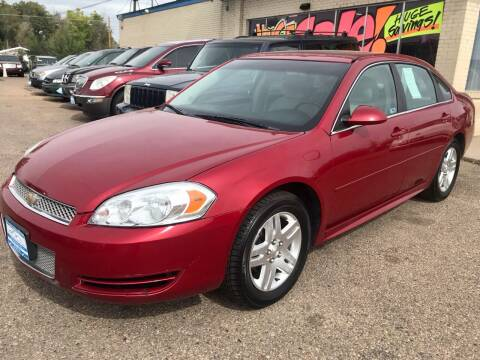 2013 Chevrolet Impala for sale at First Class Motors in Greeley CO