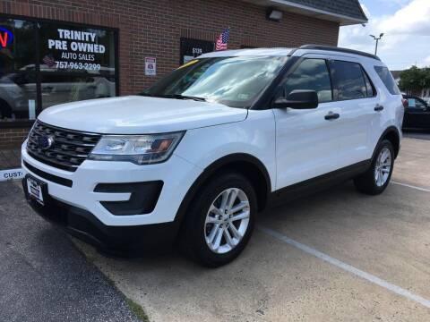 2017 Ford Explorer for sale at Bankruptcy Car Financing in Norfolk VA