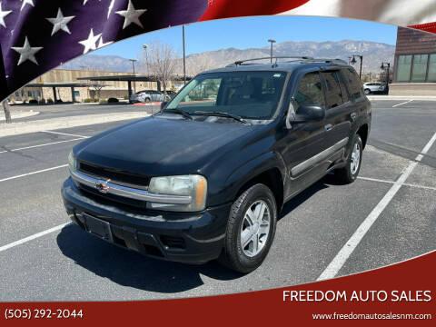 2005 Chevrolet TrailBlazer for sale at Freedom Auto Sales in Albuquerque NM