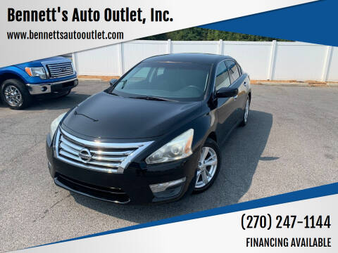 2014 Nissan Altima for sale at Bennett's Auto Outlet, Inc. in Mayfield KY