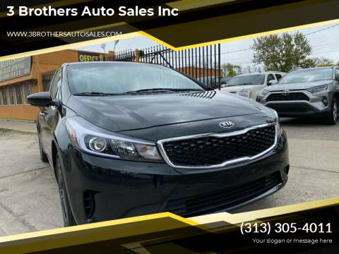2018 Kia Forte for sale at 3 Brothers Auto Sales Inc in Detroit MI