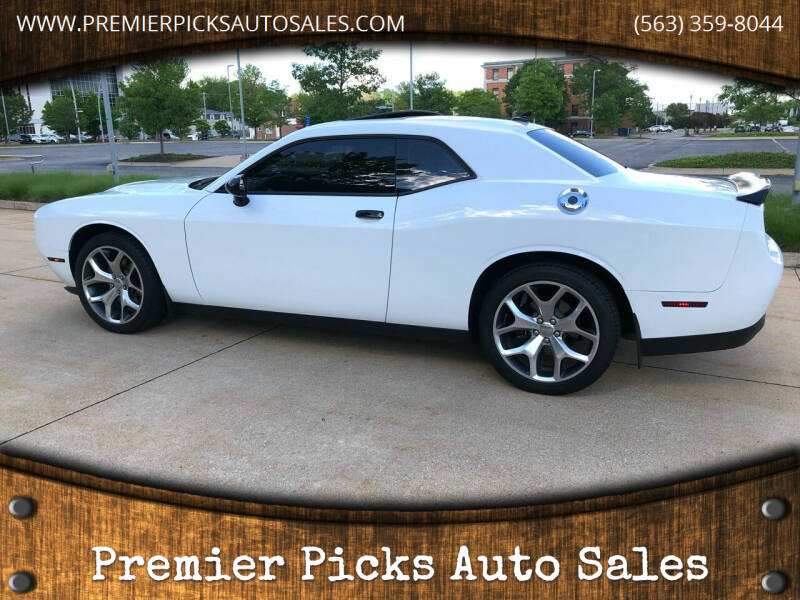 2015 Dodge Challenger for sale at Premier Picks Auto Sales in Bettendorf IA