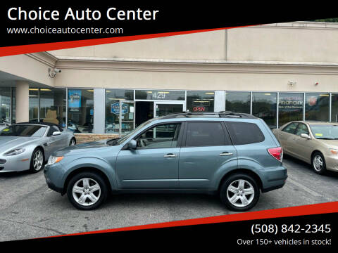 2010 Subaru Forester for sale at Choice Auto Center in Shrewsbury MA