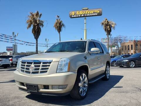 2010 Cadillac Escalade for sale at A MOTORS SALES AND FINANCE - 5630 San Pedro Ave in San Antonio TX