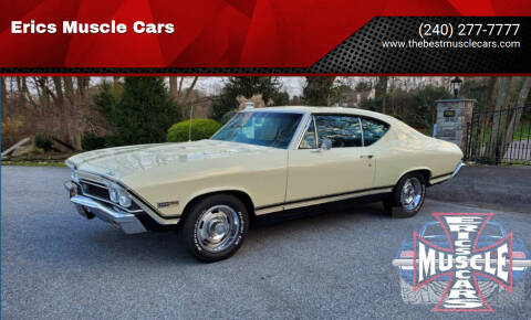 1968 Chevrolet Chevelle for sale at Erics Muscle Cars in Clarksburg MD