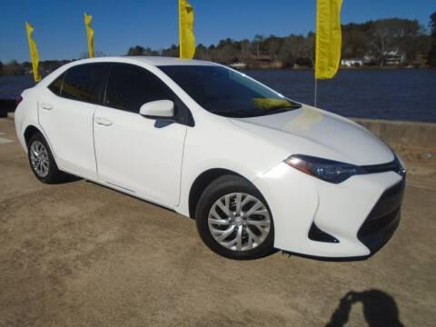 2017 Toyota Corolla for sale at Lake Carroll Auto Sales in Carrollton GA