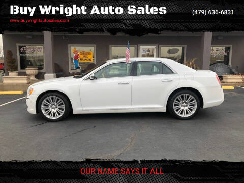 2013 Chrysler 300 for sale at Buy Wright Auto Sales in Rogers AR