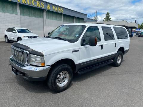 2003 Ford Excursion for sale at Vista Auto Sales in Lakewood WA
